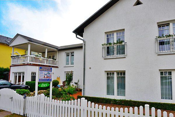 Appartements im Ostseebad Binz auf Rügen – Apartments Biermann