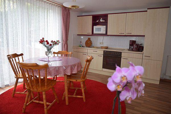 Zimmer vom Ferienhaus im Ostseebad Binz auf Rügen