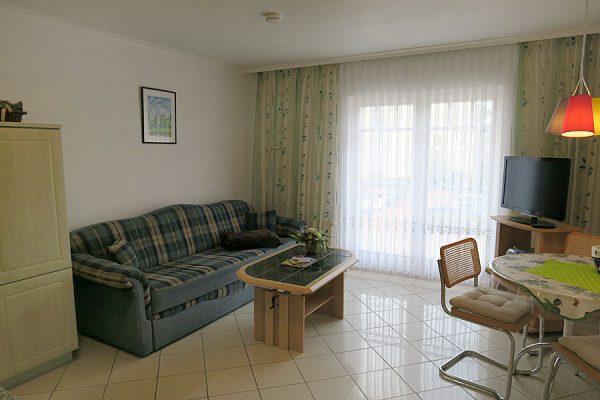 2-Zimmer-Ferienwohnungen der Biermann Apartments im Ostseebad Binz auf Rügen