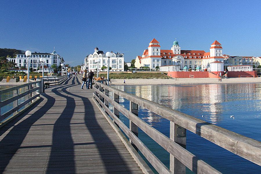 Kurhaus in Binz auf der Insel Rügen – Urlaub den den Appartements von Apartments Biermann