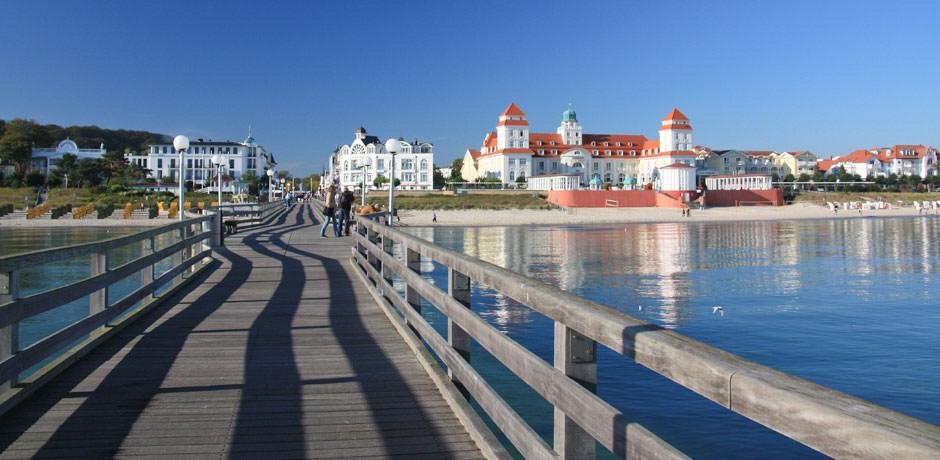 Kurhaus im Ostseebad Binz auf Rügen